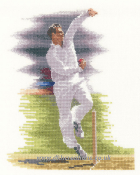 Bowler Cross Stitch Kit